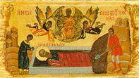Апостол Иоанн - момент погребения