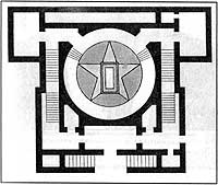 Один из первых проектов мавзолея вила